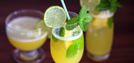 pineaple lime cooler