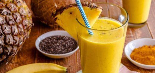 ananas s kurkumou
